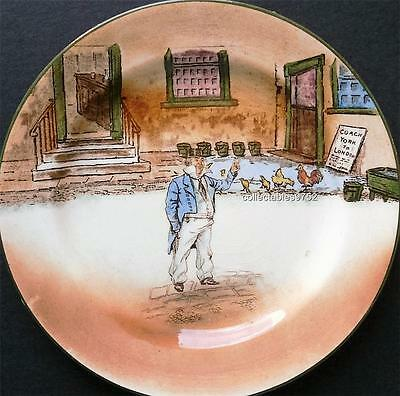 ROYAL DOULTON DICKENS WARE PLATE depicting Capn Cuttle