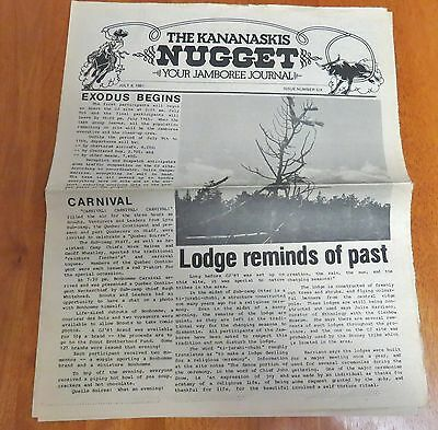 The Kananaskis Nugget - Your Jamboree Journal CJ81 Issue Number One-Six