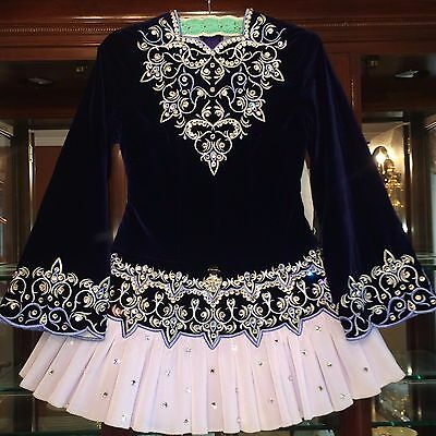 Siopa Rince Irish Dance Solo Dress ~ Exceptional Condition ~ Absolutely Stunning