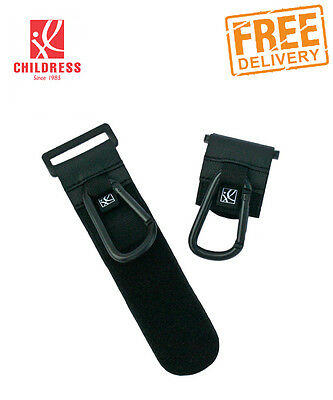 NEW Clip N Carry Stroller Hooks 2pk by J.L. Childress