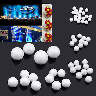 1 Set Polystyrene Foam Ball for DIY Snowman Wedding Party Decor Hand Craft