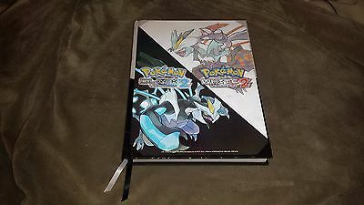 Official Pokemon Black / White 2 Collector's Edition Strategy Guide - Hardcover