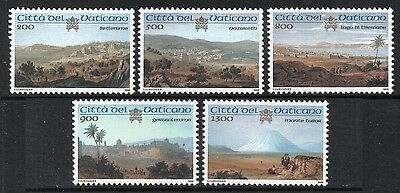 [Vo295]  Vatican City 1999 Holly Places in Palestine  Issue MNH