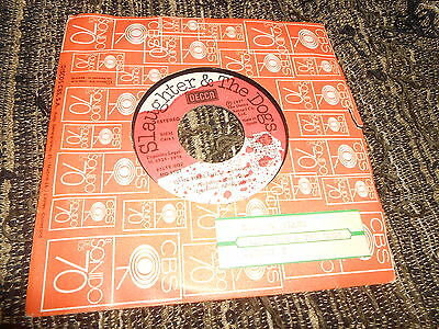 "SLAUGHTER&THE DOGS Dame to blame/Johnny T 7"" 1978 SPAIN jukebox SPANISH promo"
