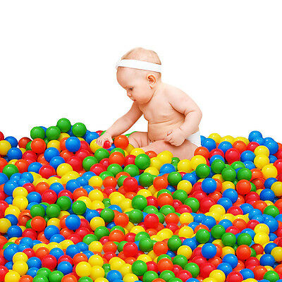50 pcs Kids Baby Colorful Soft Play Balls Toy for Ball Pit Swim Pit Ball Pool