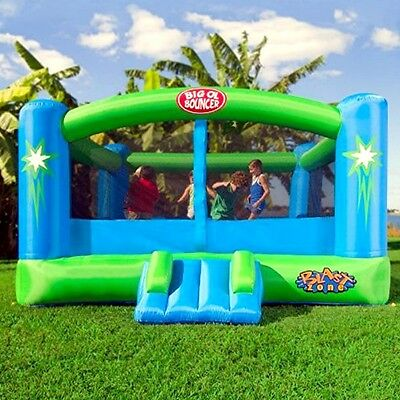 Big Bounce House Kids Play Room Inflatable Playhouse Air Trampoline Slide Jump