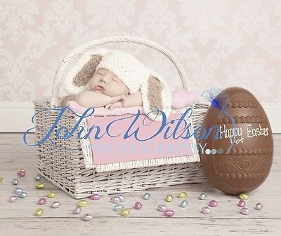 ***handmade Photo Prop Baby Bunny Hat Newborn-3Mths***