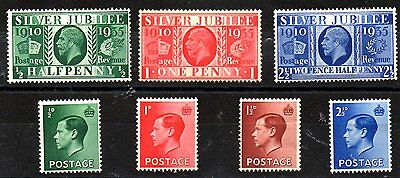 Stamps From Great Britain 1935-36.