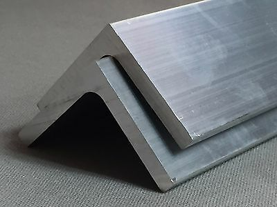 ALUMINIUM ANGLE  EXTRUSIONS Profiles  Angle Various Sizes  0.5  -  5M LONG !