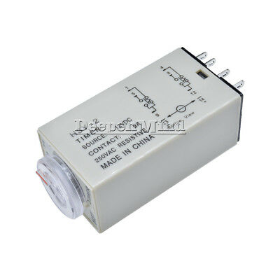 NEW DC 12V H3Y-2 0-30 Minutes Power on Timer Time Delay Relay 8 Pin TH283