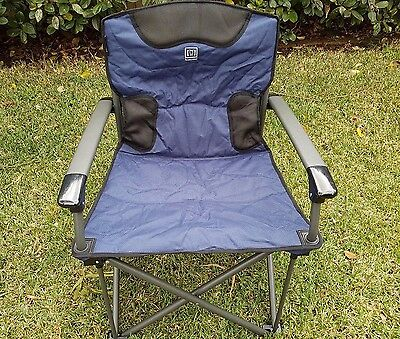 Mannagum Brand SWANSEA Folding Outdoor Camping Chair Weight Rate 150kg NEW