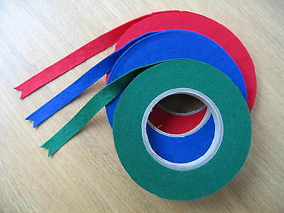 """Piano Nameboard Felt Coil Accessoriesl-Green-Red or Blue-15 metres(49' 2""""long)"""