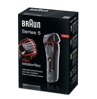 Powerful Rechargeable Waterproof Mens Foil Flexible Head Shaver Cordless Trimmer