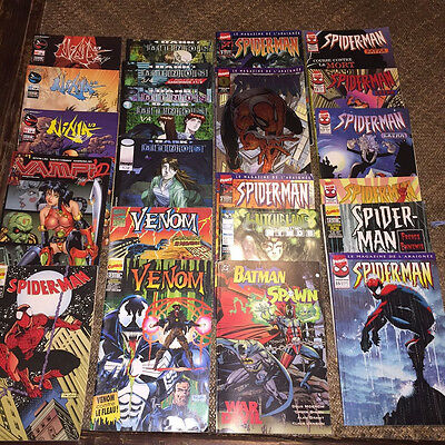 Marvel DC Semic Spider-man vampi ninja  et plein d'autres lot de comics