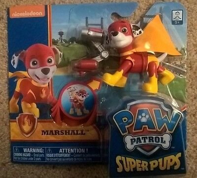 Nickelodeon Paw Patrol Super Pups Marshall Action Figure Pup (NEW+SEALED)