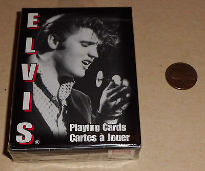 Young Elvis Presley Sealed Deck of Playing Cards-Made in USA 2003