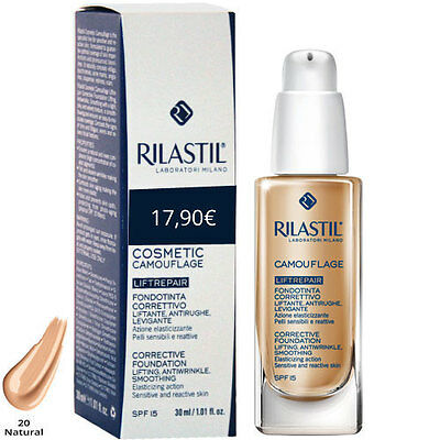 Rilastil Camouflage liftrepair fondotinta 20 natural 30ml promo