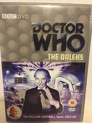 Doctor Who Classic Series - Dvd - The Daleks - William Hartnell Years