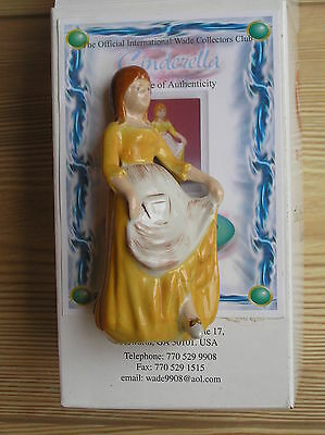 """Wade """"cinders In Rags"""" (Cinderella Collection 2001): 4"""" Tall: Vgc + Cert/boxed"""
