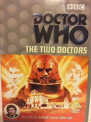 Doctor Who Classic Series - Dvd - The Two Doctors - Colin Baker Years
