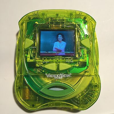 Video Now Color FX Player green Personal Video Player