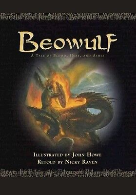 Beowulf: A Tale of Blood, Heat, and Ashes - Raven, Nicky (Hardback, 2007) new