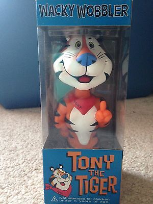 Funko Tony The Tiger Frosted Flakes Wacky Wobler Bobble Head New In Box Rare