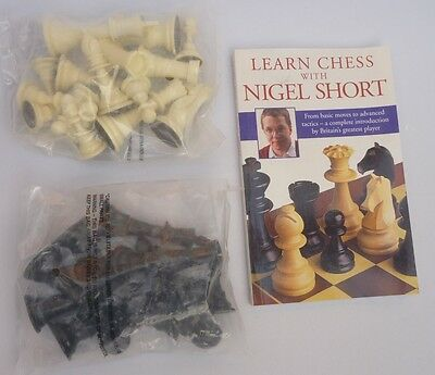 Learn Chess with Nigel Short & chess set (VGC)
