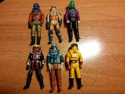 MASK M.A.S.K. Kenner lot of 6 action figures