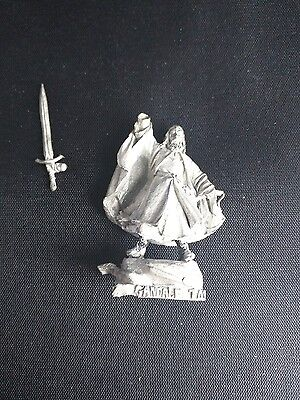 LotR Lord of the Rings GANDALF with sword Warhammer Games Workshop