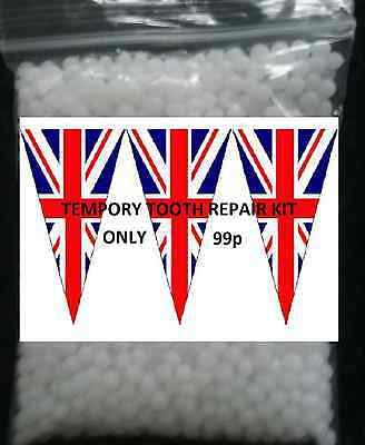 temporary tooth repair kit fix broken teeth and fills gaps