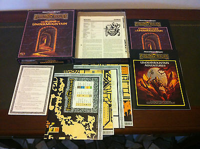 Advanced Dungeons and Dragons 2nd Edition: The Ruins of Undermountain (TSR)