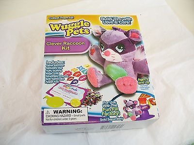 Wuggle Pet Clever Raccoon Kit in box new