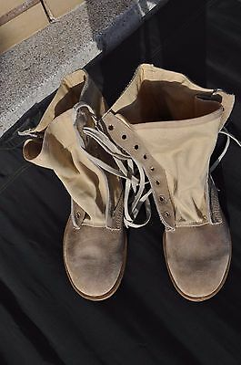 UK Army Desert Combat Boots Size 265/96 Men's 9 R UK 8 S