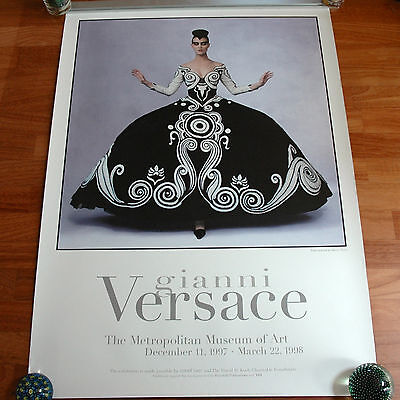 Poster GIANNI VERSACE The Metropolitan Museum of Art December 1997 - March 1988