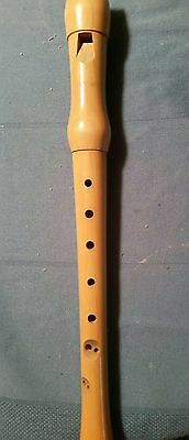Hohner C Soprano Recorder  (Two Piece) Made of Maple Wood - Natural in Color