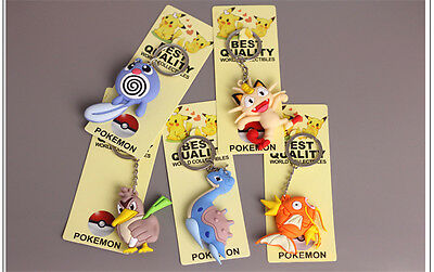 New Pokemon Go 3D Keyring Keychains - Massive Collection Party Bag Filler Gift