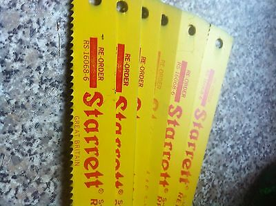 Starrett Power Hacksaw Blades Made In England See Size In Description