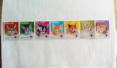 Paraguay Stamps - 1979 - cats
