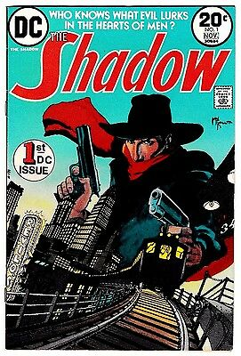 SHADOW #1 (VF-) Collector's Item 1st Issue! M.W. Kaluta Art! DC 1973 Bronze-Age