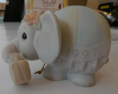 Precious Moments Ornament ~ Pack Your Trunk for the Holidays ~ Elephant ~ 272949
