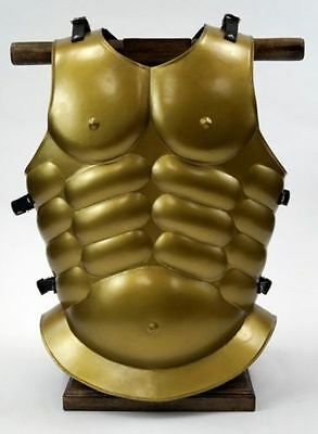 Roman Breastplate Armor- Cuirass Chest Plate - Steel Armor - Muscle Armor Brass