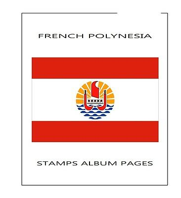 Stamps-Album-Pages-French-Polynesia-2015-Complete-Year Pdf Printable File