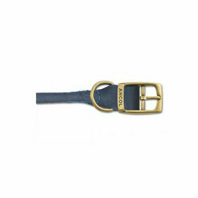 Timberwolf Leather Round Collar - Accessories  Dog Collars Leather
