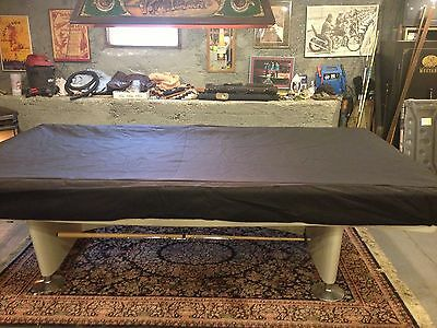 Pool Table Billiards Cover, Custom Made to Buyers Specs Cat Proof! H2O Resistant