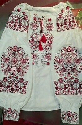 Ukrainian embroidery, embroidered blouse, 2XS - 3XL, Ukraine