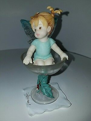 Sweet Desserts Fairie MY LITTLE KITCHEN FAIRIES by Enesco Rare Collectable