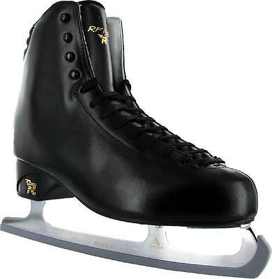 Risport RF light Figure Skates black COMPLETE WITH BLADES - 265 - Free Postage