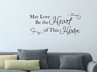 Personalised Home Quote  Wall Sticker Decal Graphic Removable Decor Vinyl Gift 7