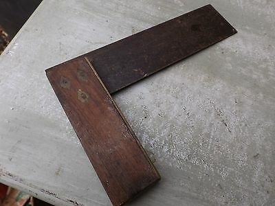 Vintage Large  Wooden Set Square Tool